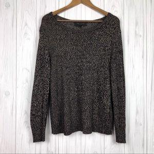 Rag & Bone | Marled Knit Scoop Neck Sweater
